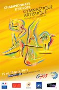 Artistic Gymnastics European Championships - From 15th to 19th of April 2015 - Montpellier (France)