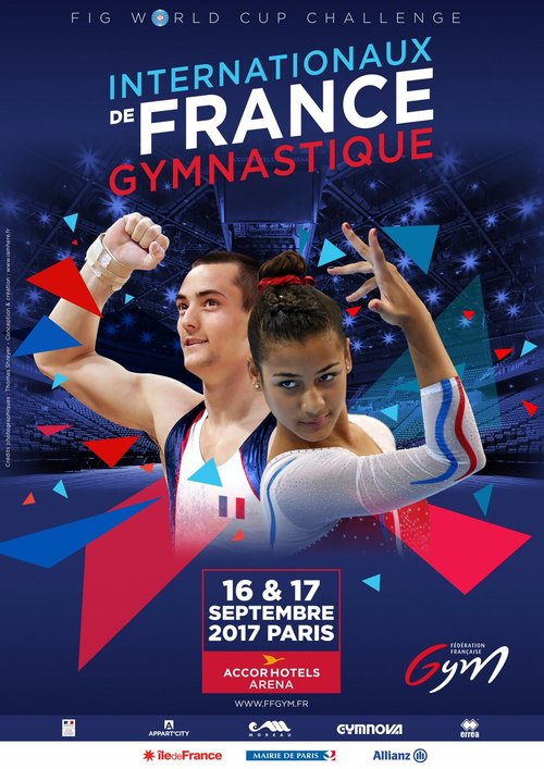 FIG World challenge cup, 20th Internationaux de France 2017, Paris