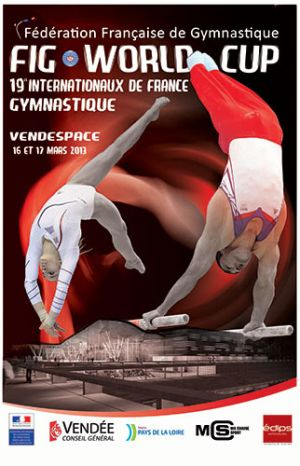 Internationaux de France de Gymnastique Artistique GAM/GAF