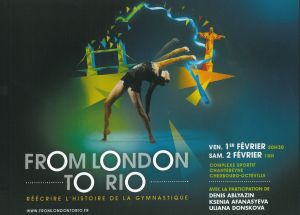 "GYMNOVA équipera le 1er et 2 février ""From London to Rio"" !"