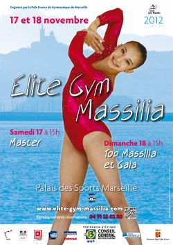 Gymnova, fournisseur officiel du rendez-vous 2012 de l'Elite Gym Massilia