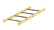 Small straight ladder - 111 x 55 cm (HxW)