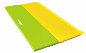 Foldable mats green / yellow