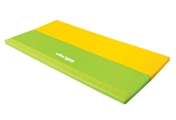 Foldable mat green / yellow