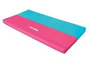 Foldable mat blue / red