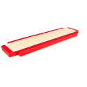 CUSTOM CENTRAL MAT FOR PARALLEL BARS - 260 x 70 x 20 cm