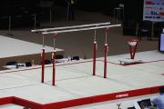 "FIG competition set of landing mats ""London"" for parallel bar"