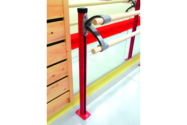 Ballet Barre Support With Double Bracket Ballet
