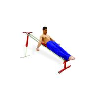 Freestanding muscle-training bench