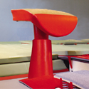Pedestal-base Vaulting table with base gard and without Refill and Sleeving Epcon