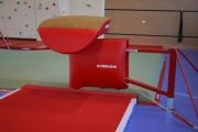 "Foldable vaulting table ""Evolution"" fixed to the floor without Refill and sleeving epcon"