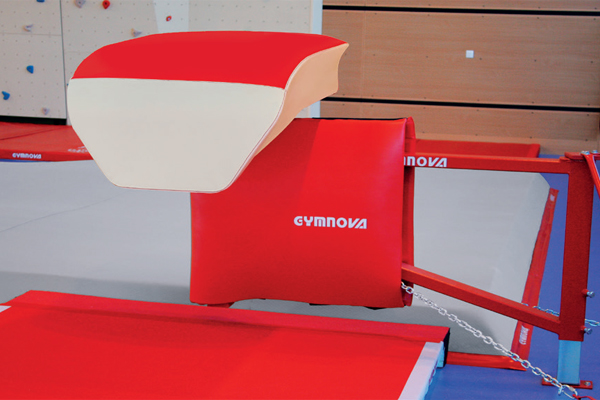 "FOLDING ""EVOLUTION"" PIT-EDGE VAULTING TABLE - WITHOUT FLOOR ANCHORS"