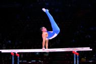 COMPETITION PARALLEL BARS WITH REINFORCED FRAME - FIG Approved