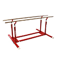 Training parallel bar Ref. 3920 with transport trolleys