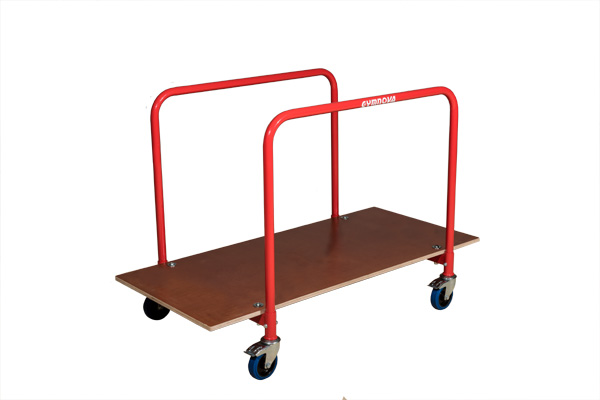 Transporter for exercise floor panels of 6570 and 6565