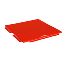 FOLDING TUMBLING TRACK - WITH PERIPHERAL ATTACHMENT STRIPS - 200 x 200 x 5 cm