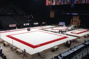 CARPET ONLY FOR COMPETITION EXERCISE FLOOR - 14 x 14 m