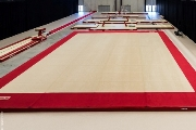 Training Spring Floor 13.05 x 13.05 m with carpet - Version with unmounted springs (*)