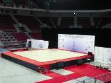 "CANCUN"" COMPETITION AEROBIC FLOOR - 12 x 12 m - FIG Approved"