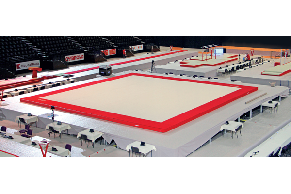 """MONTREAL"" SPRING EXERCISE FLOOR"