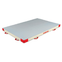 ADDITIONAL SAFETY MAT - SINGLE DENSITY - PVC AND JERSEY COVER - 200 x 140 x 10 cm